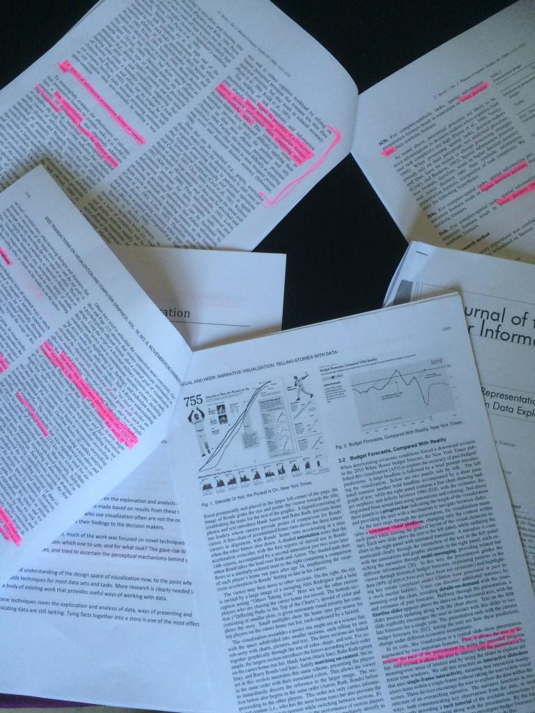 Artiklar på engelska som ska läsas under kursens gång.