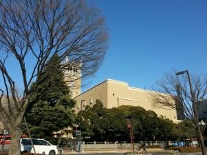 Under mitt utbyte i Japan, Waseda University campus.