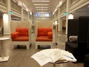 Studieplatser inne i LUX.