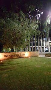 Mitt nya hem de kommande fem månaderna - University Hall