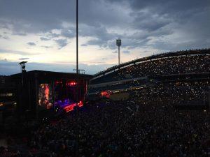 På besök i Göteborg för att se Bossen!